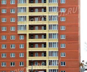 ЖК «Гагаринский» (г. Щелково): 25.11.2015 - Фрагмент строящегося корпуса