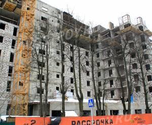 ЖК «Правда-4»: 14.02.2016 - Вид новостройки с улицы