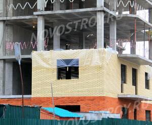 ЖК «Дом на Успенке»: 17.02.2016 -  Фрагмент строящегося дома