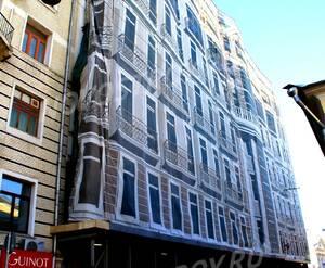 ЖК «Рахманинов»: 18.02.2016 - Дом на стадии реконструкции фасада