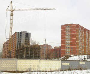 ЖК «на ул. Дубки»: Общий вид строительста. 22.02.2015