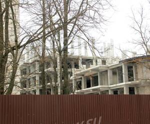 ЖК «Новое Крекшино»: 08.03.2016 - Фрагмент строящегося корпуса