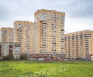 ЖК микрорайон «Восточный» (Лобня): Вид на ЖК со стороны поля