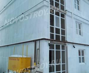 Малоэтажный ЖК «Квартал в Лесном»: газовый распределитель на территории комплекса