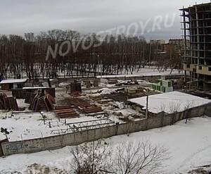 ЖК на улице 5-я Борисовская (Серпухов): вид с камеры наблюдения на площадке