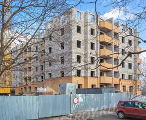 ЖК «Дом на улице Спирина»: общий вид со стороны улицы Спирина