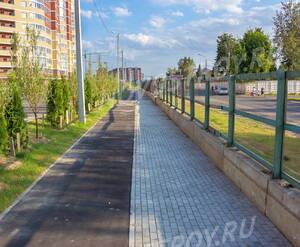 ЖК «Дом на улице Кирова»: Озеленённая придомовая территория