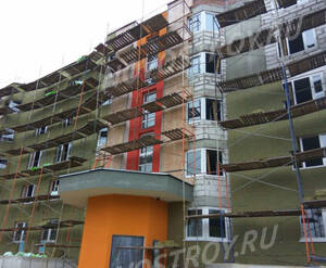 Малоэтажный ЖК «Новый квартал Бекасово»: ход строительства корпуса №1
