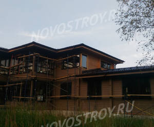 Поселок «Никольское-Лесное»: ход строительства 3 квартала из группы покупателей