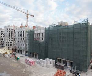 ЖК «SREDA»: ход строительства корпуса М04