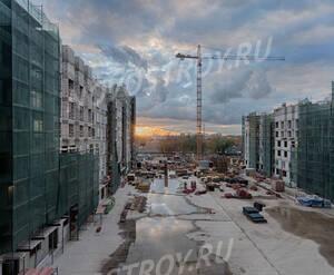 ЖК «SREDA»: ход строительства корпуса М04,М06