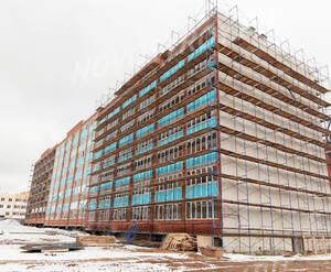 ЖК «Томилино»: ход строительства дома №4 из группы застройщика