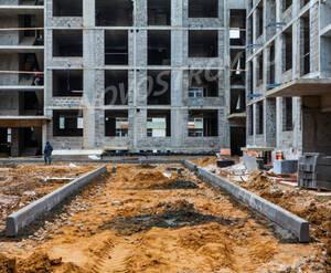 ЖК «Новогорск Парк»: ход строительства корпуса 3Д из группы застройщика