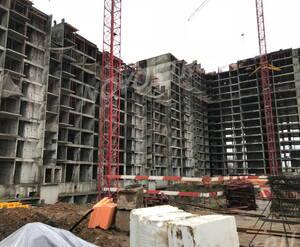 ЖК «Поколение»: ход строительства корпуса №3