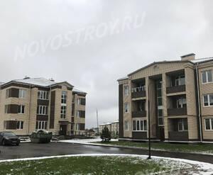 Малоэтажный ЖК «Борисоглебское»: ход строительства корпуса №144,145 из группы застройщика
