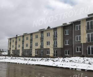 Малоэтажный ЖК «Борисоглебское»: ход строительства корпуса №148 из группы застройщика