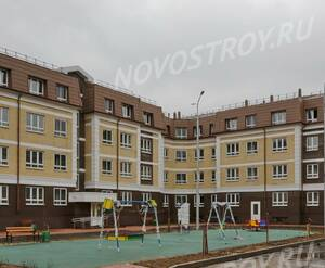 Малоэтажный ЖК «Театральный парк»: ход строительства корпуса №28