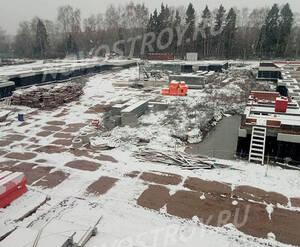 Малоэтажный ЖК «ЗаМитино»: ход строительства корпуса №3