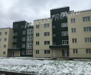Малоэтажный ЖК «Болтино»: ход строительства корпуса №2