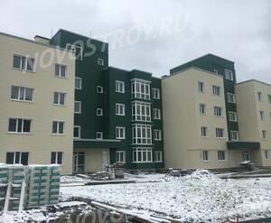 Малоэтажный ЖК «Болтино»: ход строительства корпуса №4