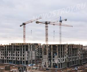 ЖК «Ильинские луга»: ход строительства корпуса №36
