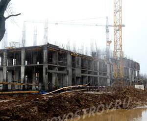 ЖК «Скандинавия»: ход строительства корпуса №12.3