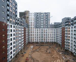 ЖК «Гринада»: ход строительства 1 очереди, корпус №2