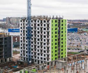 ЖК «Новокуркино»: ход строительства корпуса №1.3