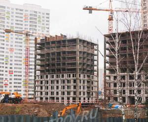 ЖК «Левобережный»: ход строительства корпуса №7.1