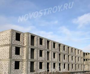 Малоэтажный ЖК «Борисоглебское»: ход строительства корпуса №162 из группы застройщика