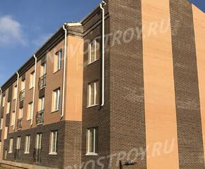 Малоэтажный ЖК «Борисоглебское»: ход строительства корпуса №164 из группы застройщика