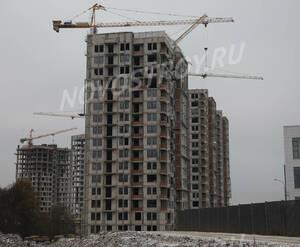 ЖК «Скандинавия»: ход строительства корпуса №1