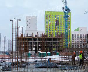 ЖК «Бунинские луга»: ход строительства корпуса №1.2.2