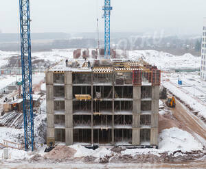 ЖК «Бунинские луга»: ход строительства корпуса №1.3