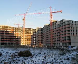 ЖК «Новоснегирёвский»: ход строительства корпуса №15 из группы застройщика