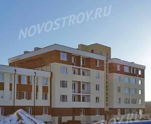 Малоэтажный ЖК «Малина»: ход строительства корпуса №4.1