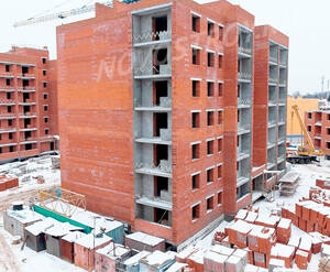 ЖК «Томилино»: ход строительства дома №6
