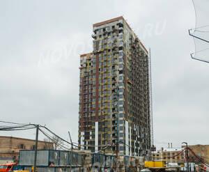 ЖК «Лефортово Парк»: ход строительства корпуса №1