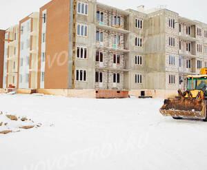 Малоэтажный ЖК «Пушкарь»: ход строительства корпуса №1