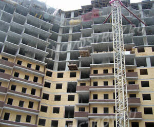 ЖК «Экоград на Микояна»: ход строительства корпуса №2