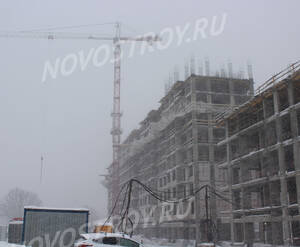 ЖК «Скандинавия»: ход строительства дома №12.2
