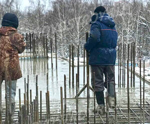 ЖК «Московский» (Красная горка 2): ход строительства корпуса №1Б