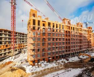 ЖК «Видный город»: ход строительства дома №3