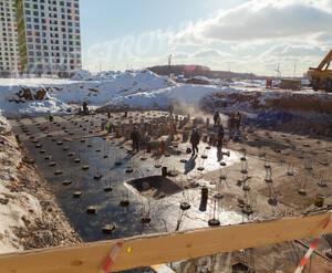 ЖК «Бунинские луга»: ход строительства корпуса №1.16.1