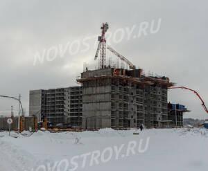 ЖК «Пироговская Ривьера»: ход строительства корпуса №9