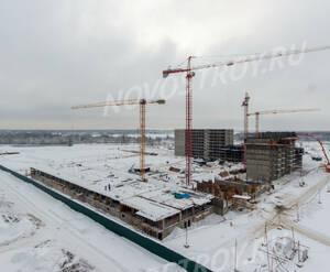 ЖК «Пироговская Ривьера»: ход строительства корпуса №9,10
