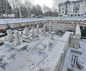 Малоэтажный ЖК «Театральный парк»: ход строительства корпуса №32