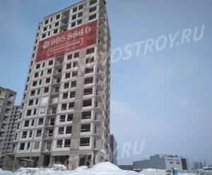 МФК UP-квартал «Скандинавский»: ход строительства корпуса №4