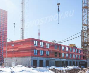 ЖК «Одинцово-1»: ход строительства корпуса №1.10