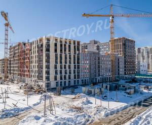 ЖК «Новые Ватутинки» (мкр-н. Центральный): ход строительства корпуса №10/1-10/2